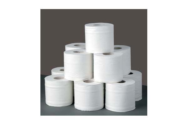 3 ply recycled pulp toilet tissue paper roll