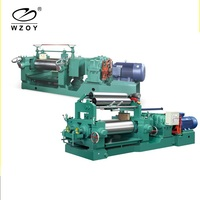 Rubber Plastic Filtering Sheet Machine For