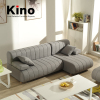 Modern Fabric Small Corner Sofa Set