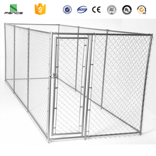 Heavy duty galvanized large chain link dog kennel