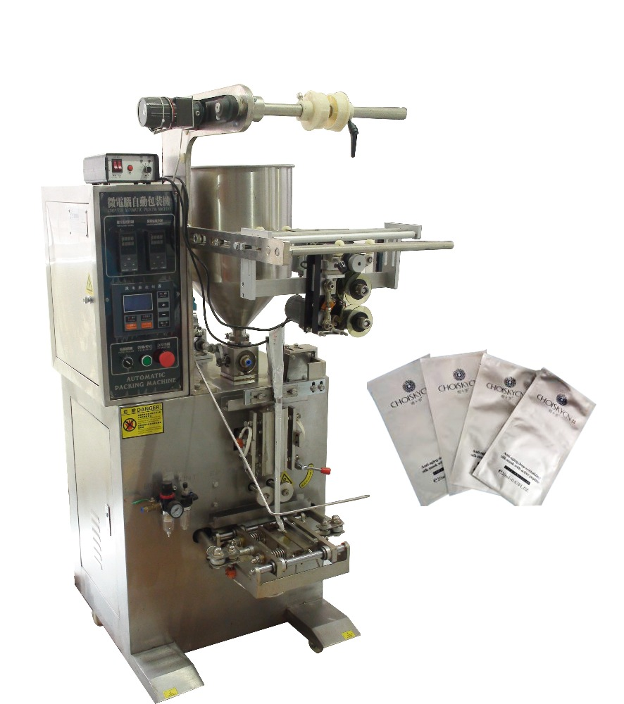 Automatic Sachet Lotion Packing Machine
