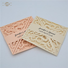 birthday party decorations luxurious 2018 lace wedding invitation card 4 flap