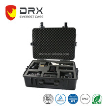 security/camera/military/gun carrying storage plastic equipment case with foam