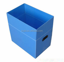Foldable plastic pp hollow storage containers