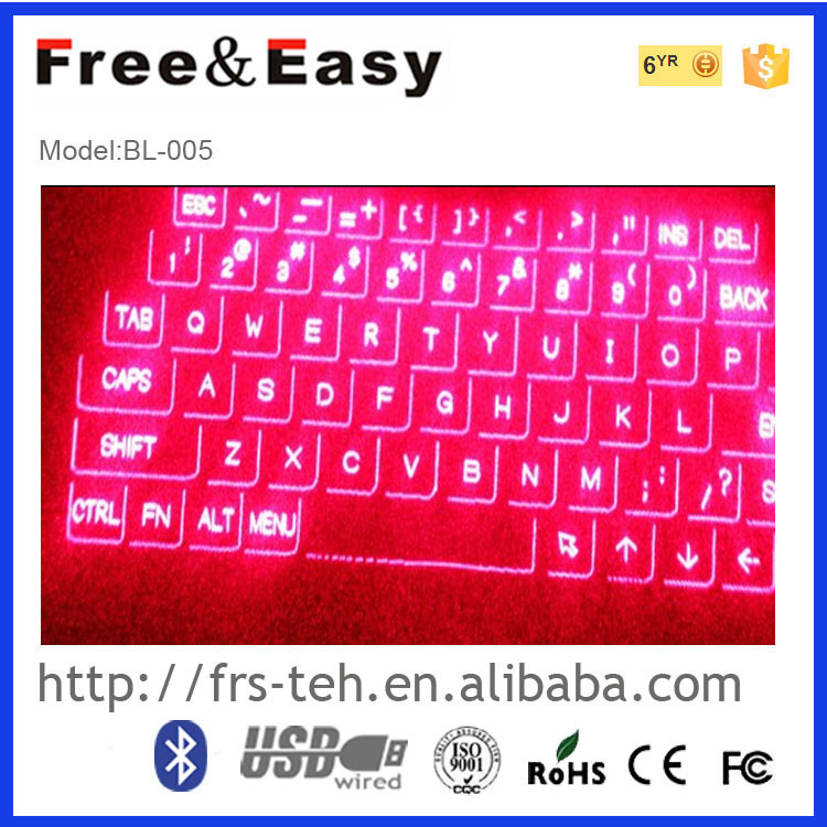 Virtual wireless bluetooth keyboard bcm20730 for laptop