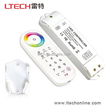 RF Wireless Touch Remote Controls for RGB Lighting Fixture