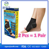 Hot Sale Breathable nylon ankle support compression ankle sleeve,one size ,black
