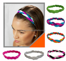 Sports <strong>Headbands</strong> with NO SLIP GRIP Technology - Perfect for Athletes or Great Accessory - Super Comfortable