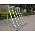 Floor Mounted Galvanized Semi-vertical Bike Rack/Stand/Bicycle Parking Rack/Bicycle Display Stand(ISO SGS TUV Approved)