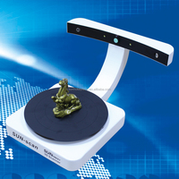 Sunhokey 32Bits Dual Laser 3D Scanner Sun-Scan 2MP CMOS Image S/Module Sun-Scan with USB Interface Type 3D Scanning Machine