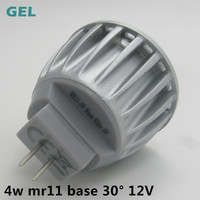 china die casting aluminum 35mm gu10 mr11 led 5w