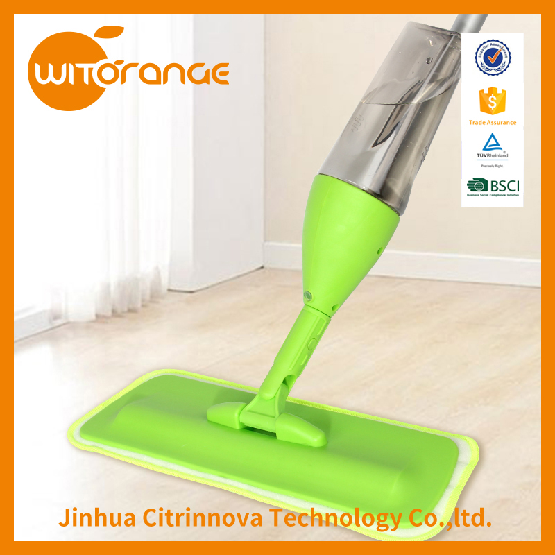 Witorange Spray Mop with microfiber cloth and multifuction spray squeegee