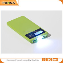 New gifts Outdoor travel emergency Universal Portable li-polymer battery Mobile phone charger 6000mah power bank