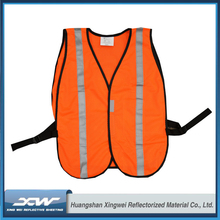 High vis security riding reflecting lighted safety vest