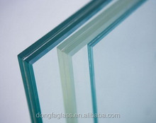 5MM+1.52+5MM heat strengthened laminated glass