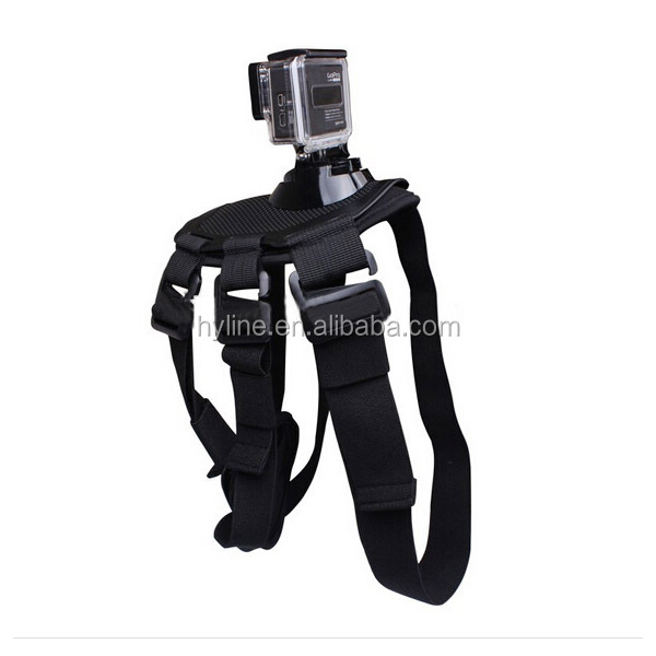 Gopro Dog Harness Chest Strap Belt Mount GoPros Fetch Mount For Go Pro Sports camera Accessories