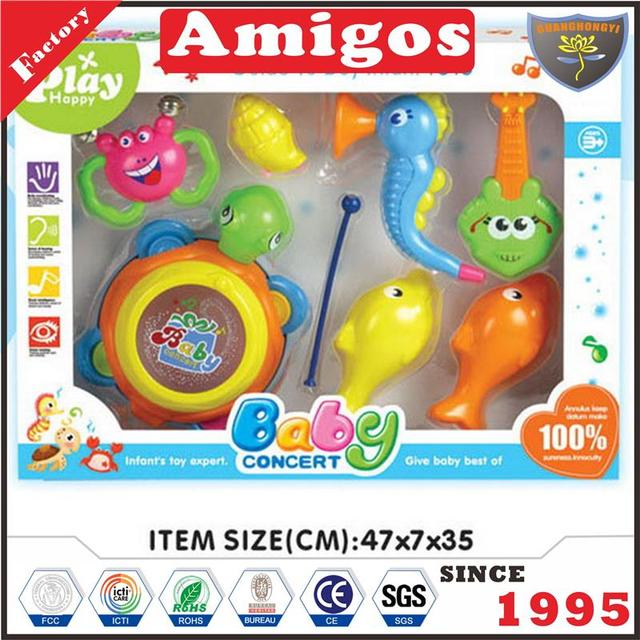 excellent baby rattle portable music toy