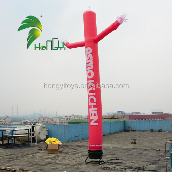 Hongyi Inflatable Sky Man / 20ft Inflatable Air Dancer / Custom Inflatable Air Dancer with Tow legs