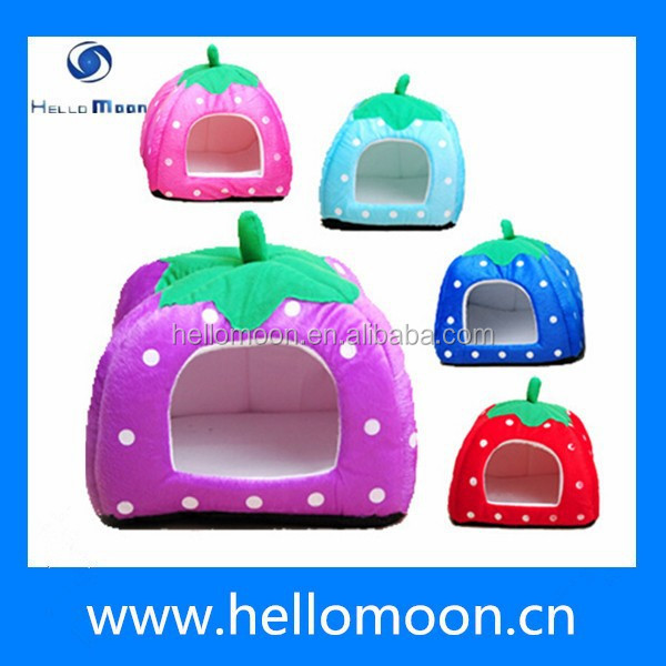 2015 Hot Selling Cheap Cute Top Quality Strawberry Shape Foam Pet House
