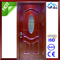 French Plain House Front Entry Timber Door