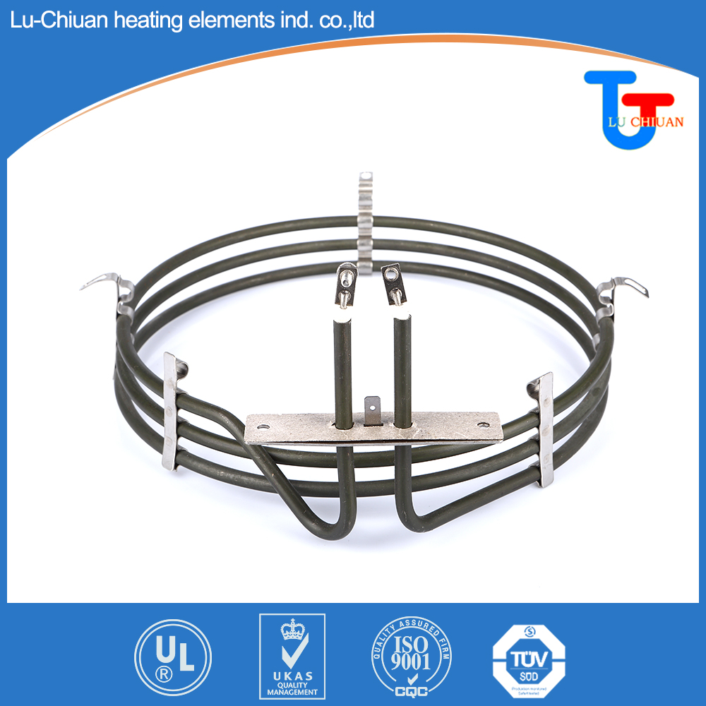 Barbecue pan cooking Electric heating element Parts