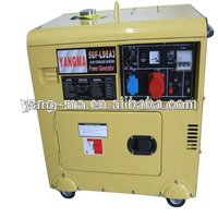 Model 6GF-LDE,air cooled Home standby 5kw/6kva small silent diesel generator set
