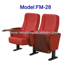 Theater furniture indoor church auditorium chairs FM-28