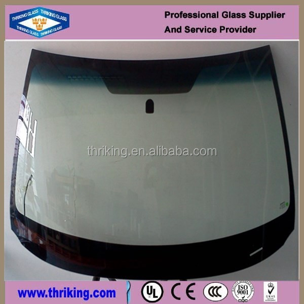 5mm thick laminated windshield glass