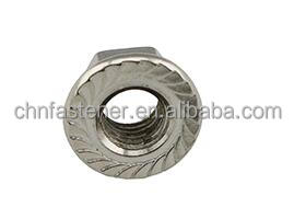 Stainless steel Hexagon Nuts With Flange