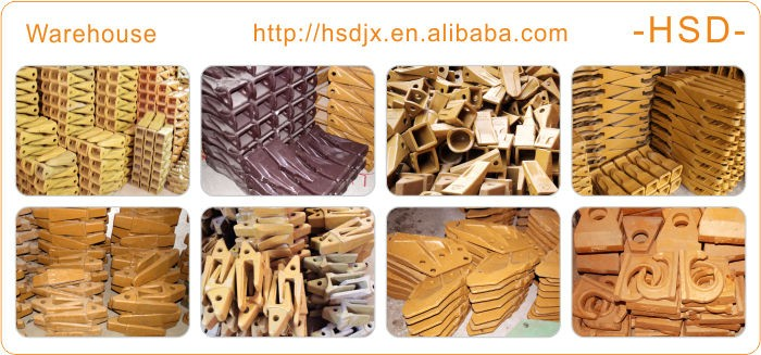 Hot sale custom engine parts volvo EC460 excavator bucket teeth