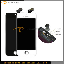 100% Original New For Apple iPhone 5 LCD Display Screen Touch Screen Digitizer Assembly Replacement
