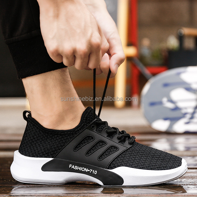 Wholesale Cheap New Mens Sport Running Shoes Breathable Mesh Sport Sneakers