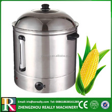 Electric 48L commercial 304 food grade stainless steel sweet corn steamer