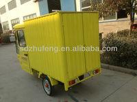 convenient chinese electric delivery van