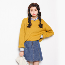 ZH02245B Fashion women wear cashmere woolen pullover ladies sweater