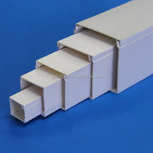 White electrical pvc casing