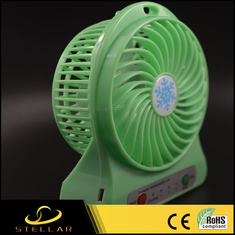 ABS Portable Mini Handheld Rechargeable Fan SS-FAN001
