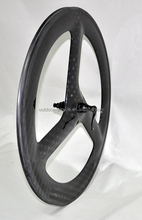 Three spoke carbon wheels, china cheap carbon wheels, china high quality carbon wheels