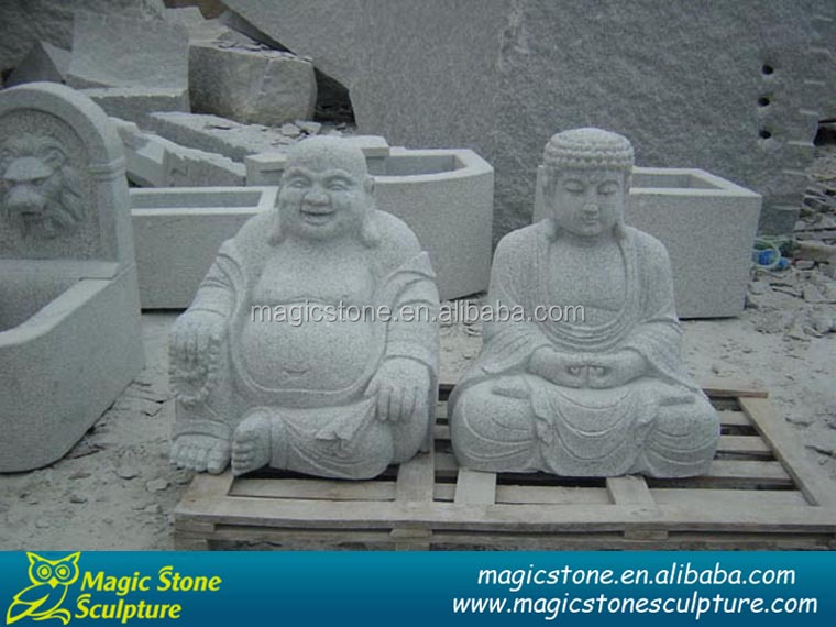 Natural stone carving buddha on sale