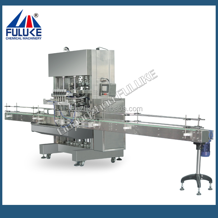 Guangzhou Fuluke Easy Controled Automatic Small Bottle Liquid / Liquid Shampoo / Soap / Detergent Filling Machine