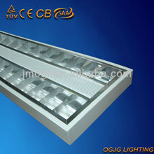 TUV-CE,SAA grille lighting fixture,t5 fluorescent light brackets,ceiling lighting grid panel