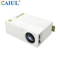 High Contrast Multimedia HD HDMI / SD / USB home cinema portable mini led video Wireless Projector