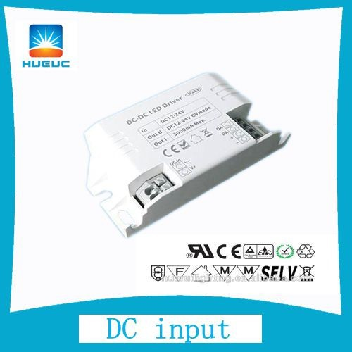 350mA One channel 12V DC input DALI LED DIMMER DRIVER