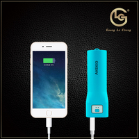 pocket size portable charger external battery pack mobile power bank 2600mah