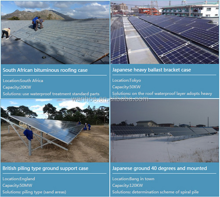 normal specification solar ground mounting structure