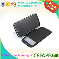 mobile phone power case for samsung Galaxy s4