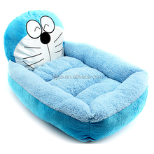 Lovely cartoon bear animal shape pet bed dog bed