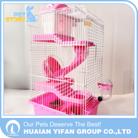 Three-story building portable Factory Wholesale hamster cage small animal cage