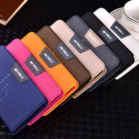 high quality wallet pouch cell phone cover case for samsung galaxy s5
