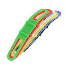 Cycling Bike Bicycle Silicone Band Flash Light Ribbon Mount Holder Flashlight Phone Strap Tie